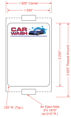 Car Wash Labels