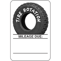 Manual Tire Rotation Labels - OLTRWB
