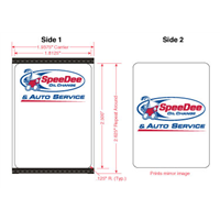 SpeeDee Double Sided Labels- Godex RT700i