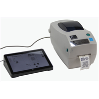 MTP Tablet (with System Software) and Zebra 2824 Printer